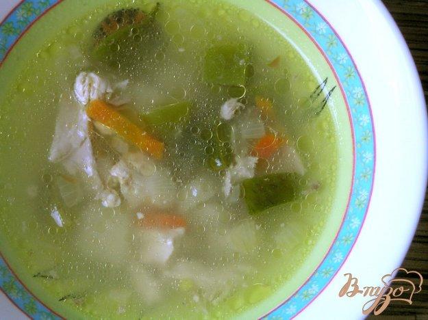 фото рецепта: Куриный суп с лоби