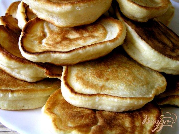 фото рецепта: Пышные оладьи на кефире