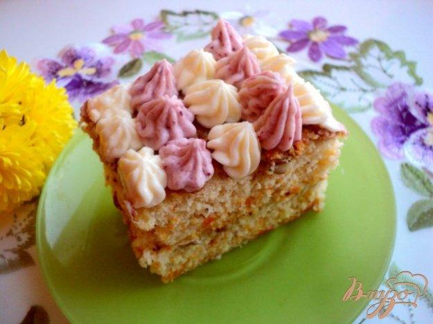 фото рецепта: Тыквенно-ореховое пирожное
