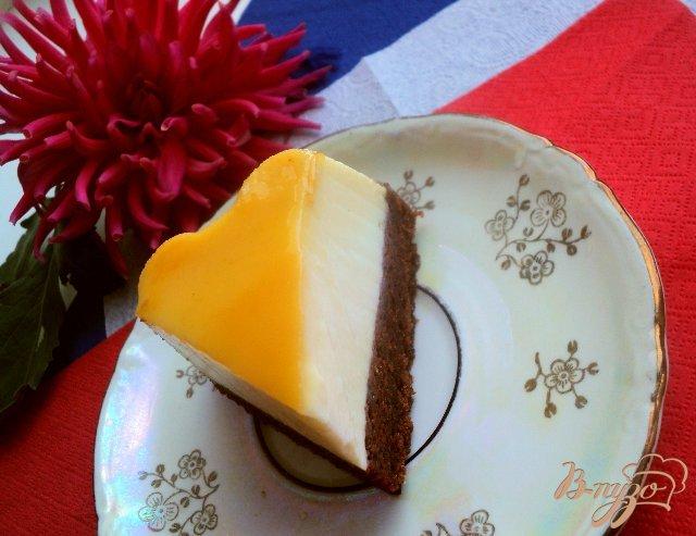 Фото приготовление рецепта: Торт «Крем-карамель» шаг №9