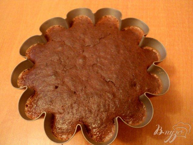 Фото приготовление рецепта: Торт «Крем-карамель» шаг №7