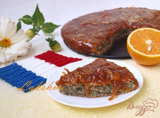 Рецепт Апельсиновый кекс с маком