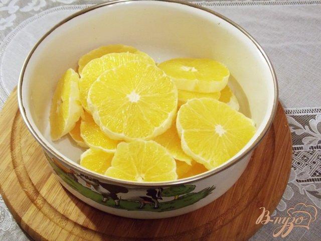 Фото приготовление рецепта: Апельсиновый джем за 25 минут шаг №1