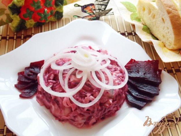 Рецепт Салат из сельди со свеклой и сметаной
