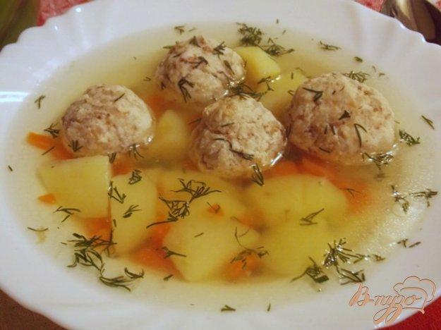 Рецепт Гречаники в курином бульоне