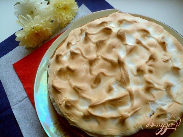 Фото приготовление рецепта: Лигурийский лимонный пирог шаг №7