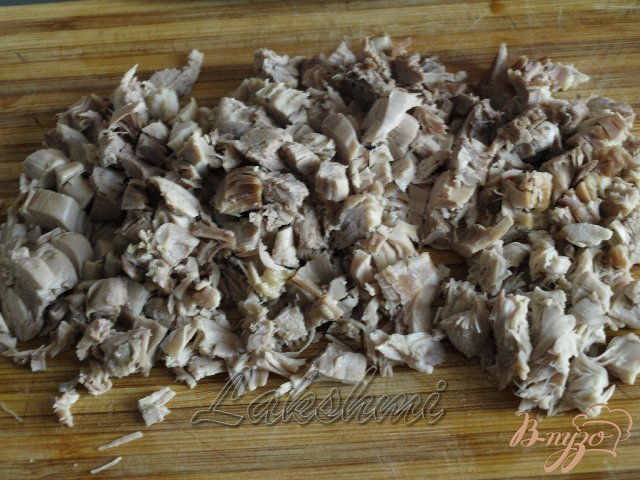 Фото приготовление рецепта: Кубинский суп с бананами шаг №4