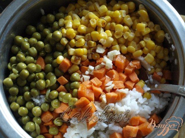 Фото приготовление рецепта: Кубинский суп с бананами шаг №3