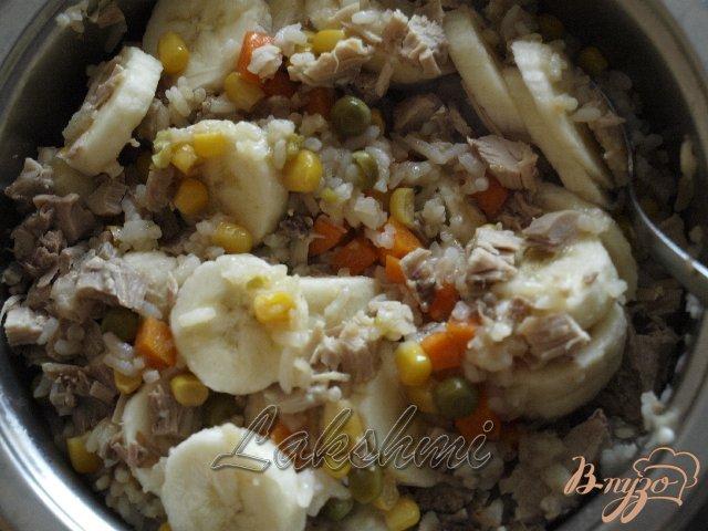 Фото приготовление рецепта: Кубинский суп с бананами шаг №6