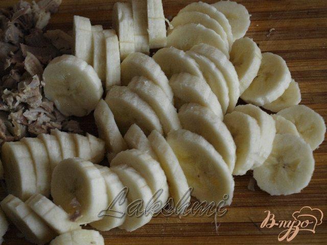 Фото приготовление рецепта: Кубинский суп с бананами шаг №5