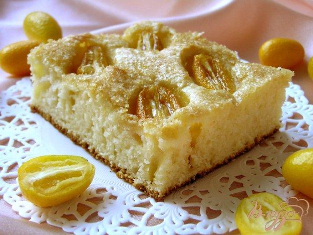 Рецепт Пирог с кумкватом