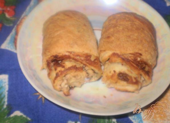 Рецепт Слоеные булочки с творогом