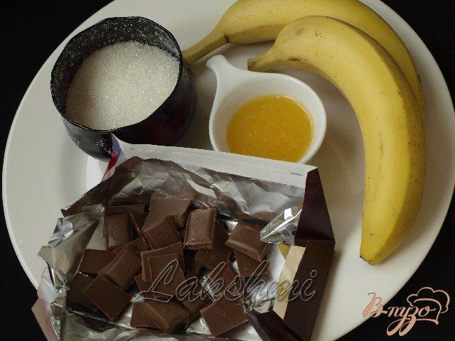 Фото приготовление рецепта: Шоколадно-банановый крем шаг №1
