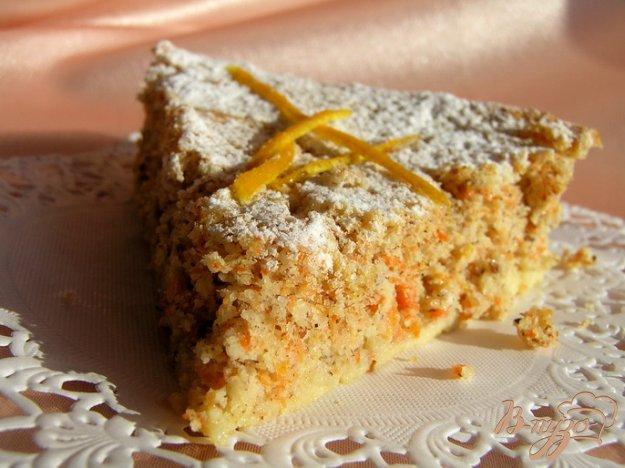 Рецепт Итальянский морковный пирог