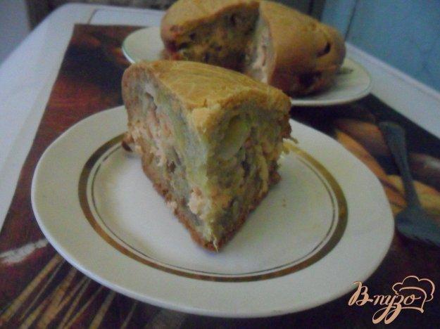Рецепт Заливной пирог с рыбой