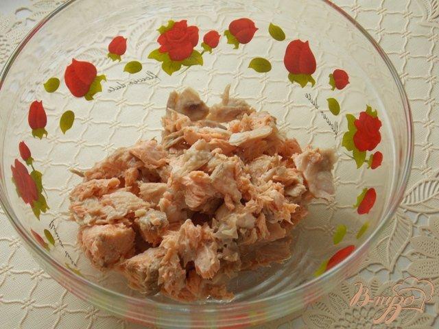 Салат из семги вареной рецепт очень вкусный