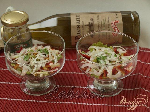 Фото приготовление рецепта: Салат