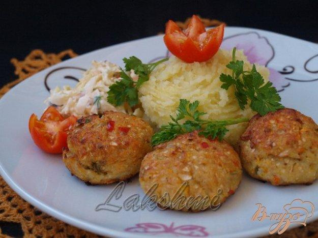 Рецепт Куриные котлеты с овощами