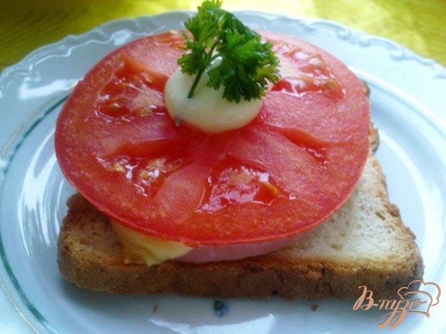 фото рецепта: Горячие бутерброды второй вариант