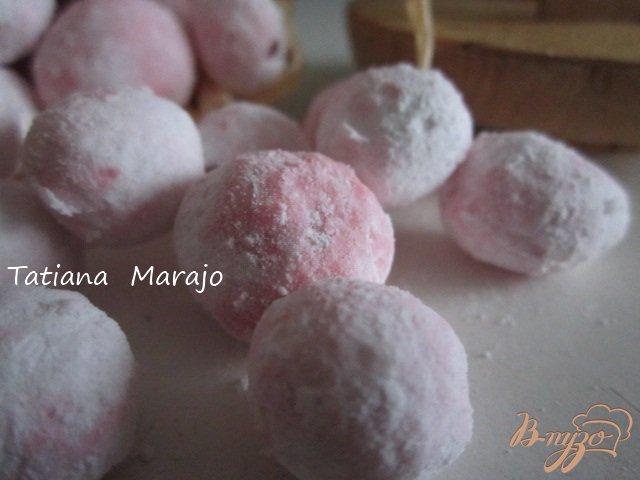 Фото приготовление рецепта: Клюква в сахаре шаг №4