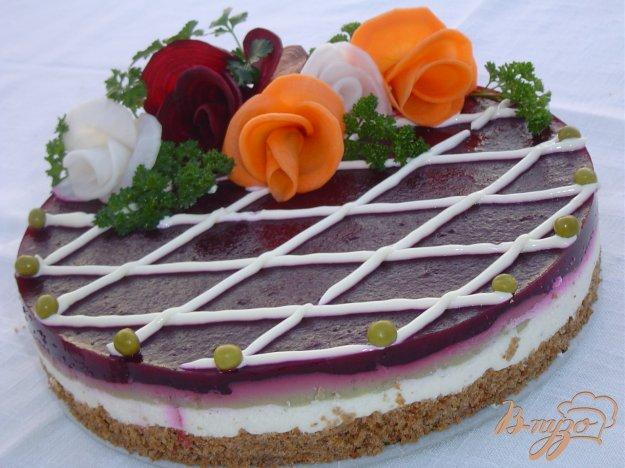 Закусочные тортики с фото