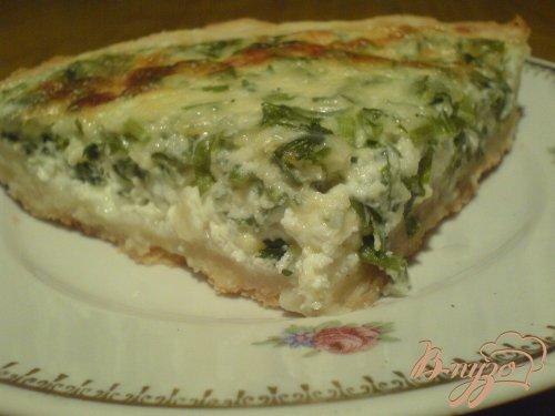 Пирог с сыром и петрушкой