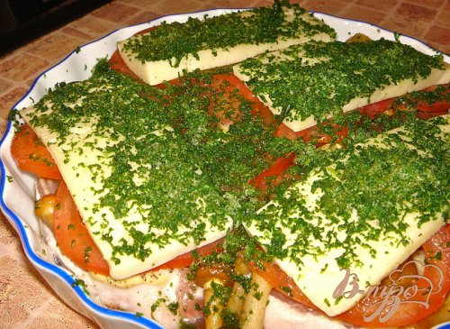 Рецепт мяса под шубой