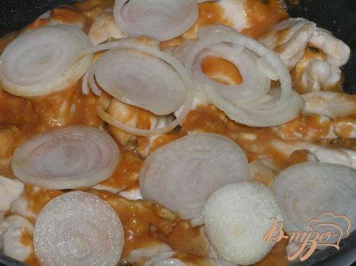 Куриные грудки в чесночно-горчичном соусе