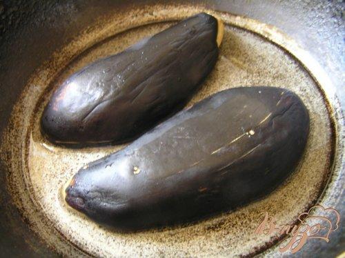 Баклажаны с чесночным соусом