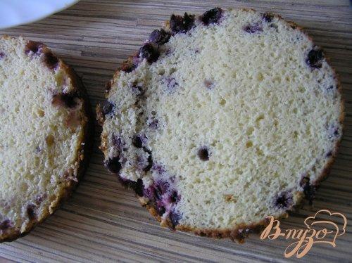 Торт со смородиной и орехами