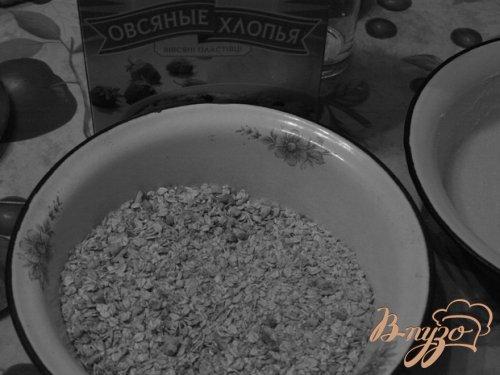 Овсяно-ореховое печенье