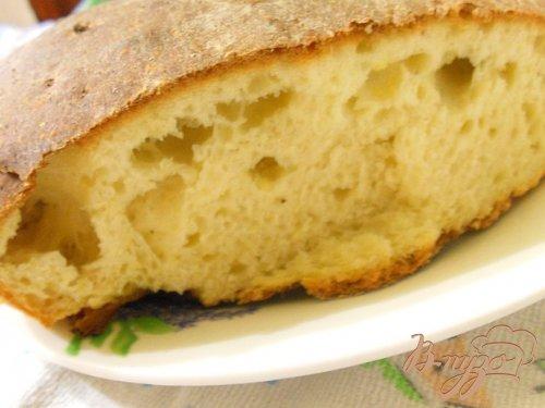 Хлеб из поленты (кукурузная каша)