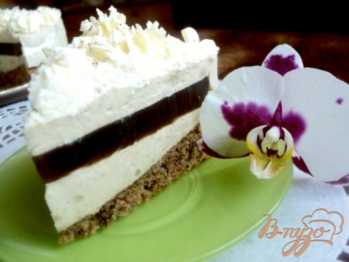 Торт « Кофе со сливками»