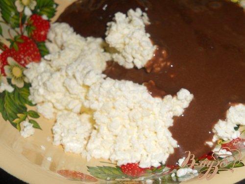 Профитролевые булочки с творожной начинкой