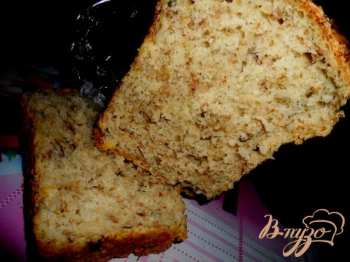 Ароматный гречнево-овсяный хлеб
