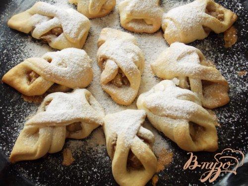 """Печенье  с яблоками, корицей и орехами """"Чарох"""""""