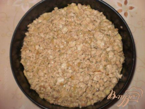 Картофельная запеканка под соусом Бешамель