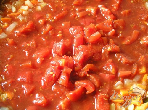 Томатный куриный суп