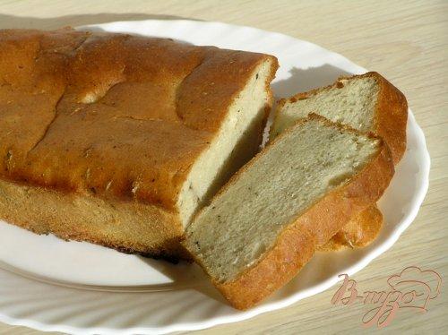 Десертный хлеб с мятой