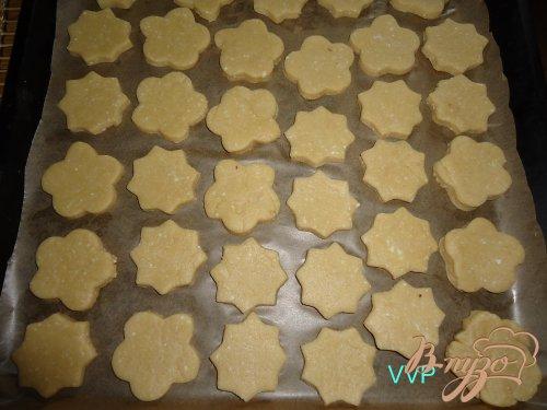 Печенье творожное с помадкой из хурмы
