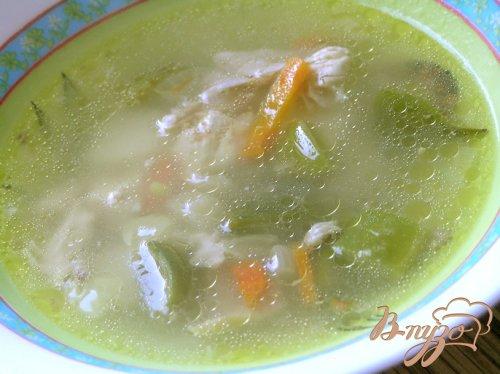 Куриный суп с лоби