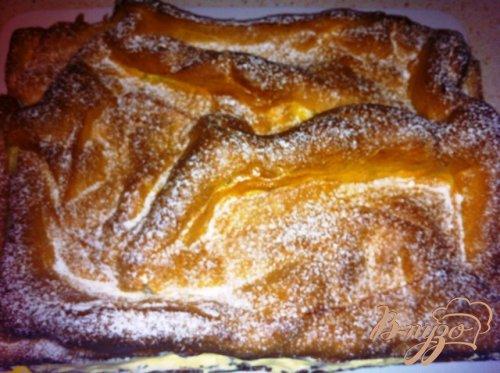 Заварной пирог с кремом