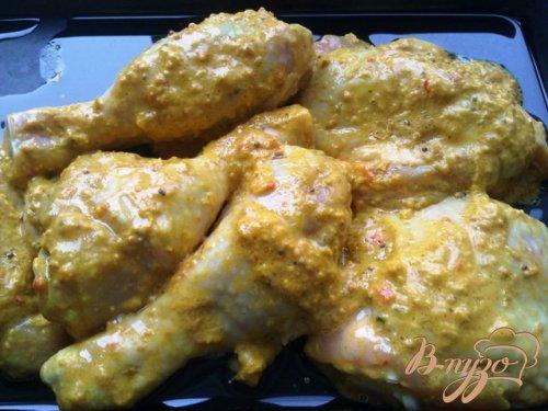 Куриные окорочка в остро-сладком маринаде