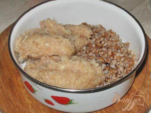 Гречаники в курином бульоне