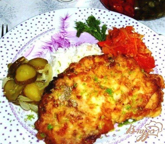Рецепт Бифштекс в льезоне