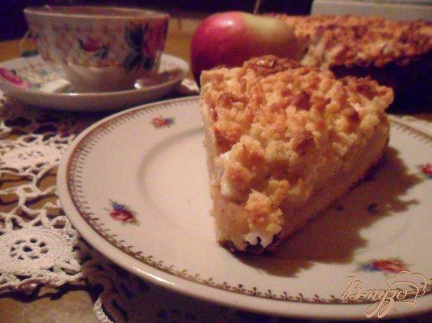 """Рецепт Яблочный пирог """"Нега"""""""