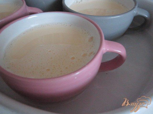 Фото приготовление рецепта: Молочный десерт