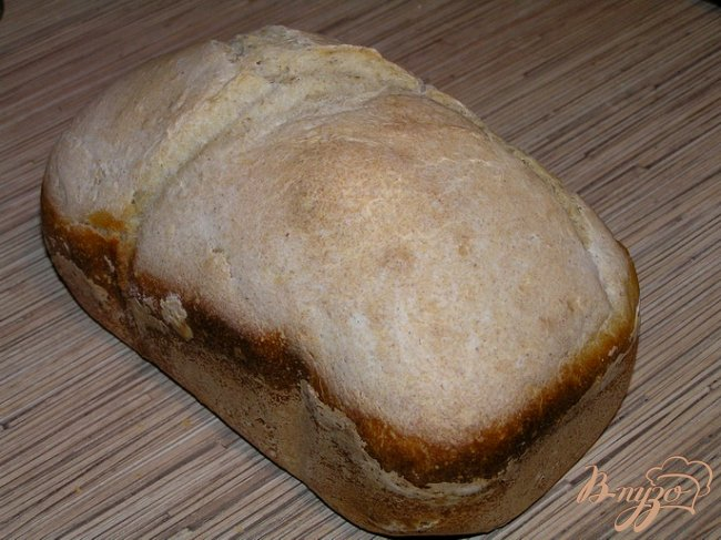 Фото приготовление рецепта: Хлеб с творогом шаг №4