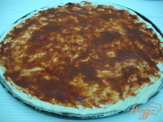 Фото приготовление рецепта: Пицца сборная шаг №2
