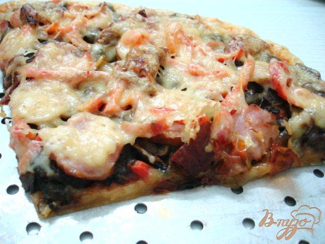 Фото приготовление рецепта: Пицца сборная шаг №7